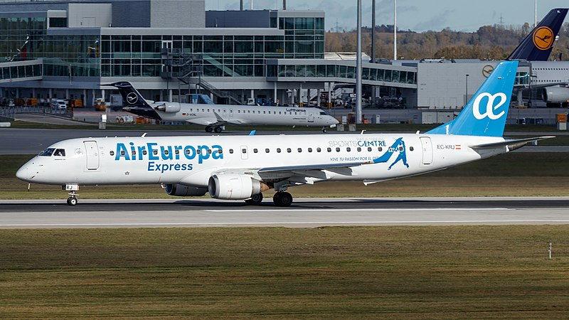 Sustainable Aviation — Air Europa Express (Source)
