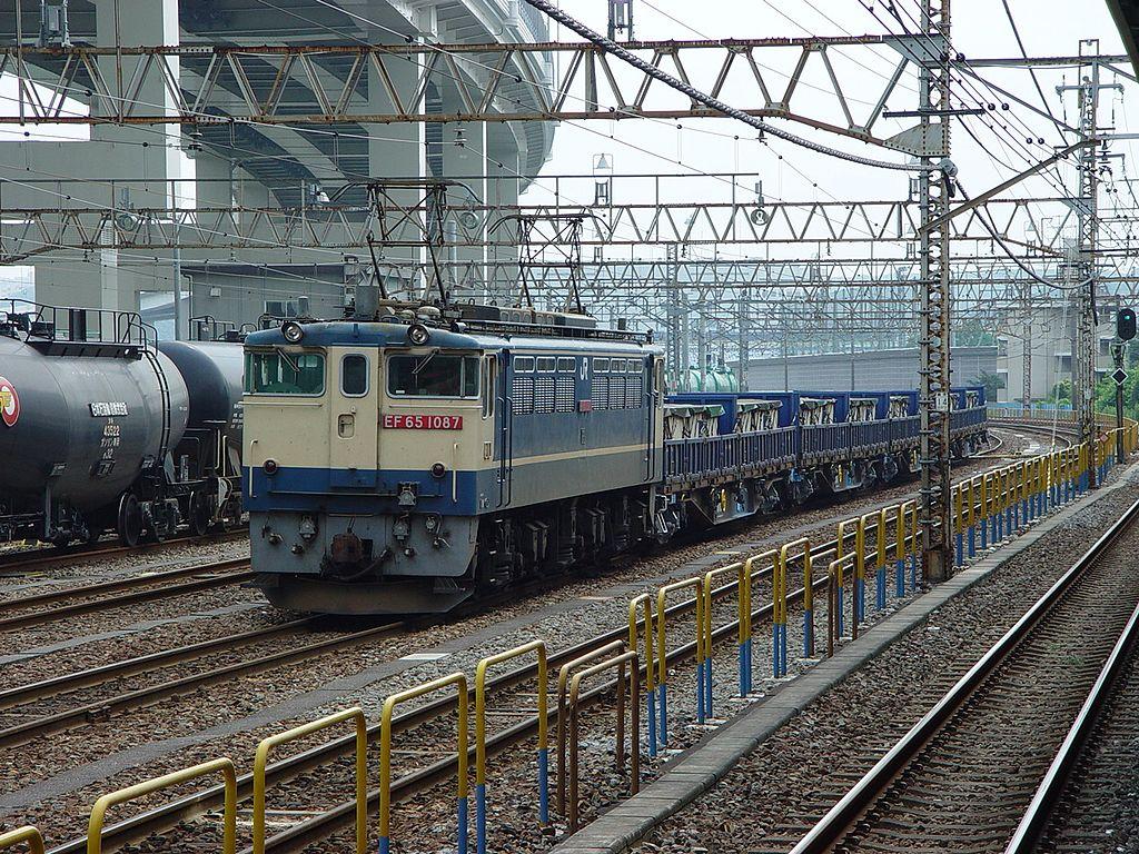 EF65 1087 Negishi 20030630