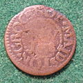 ENGLAND, MAIDSTON -RICHARD WALKER MAIDSTON GROCER FARTHING TOKEN 1658 a - Flickr - woody1778a.jpg