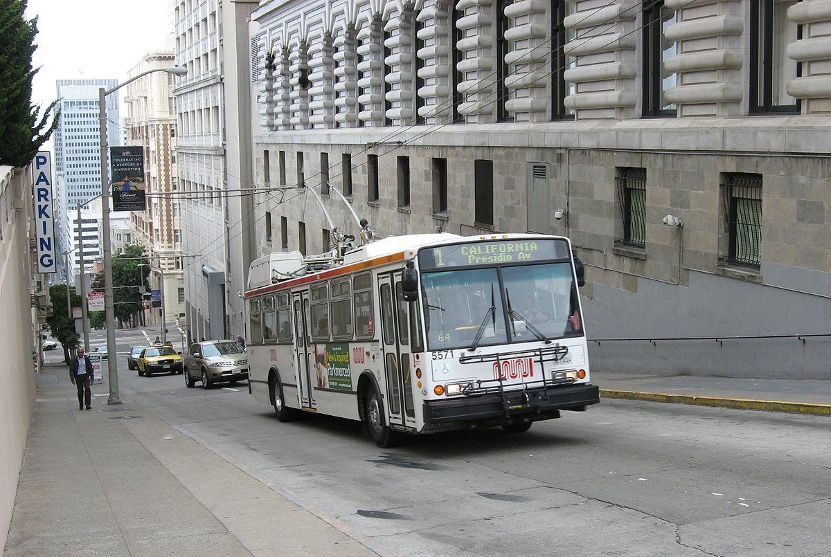 Троллейбус Сан Франциско Википедия
