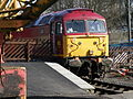 EWSR Class 47 No. 47785, Kirkby Stephen, Stainmore Railway, 30 March 2013.jpg