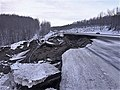 Earthquake damage to the Glenn Highway at Mirror Lake.jpg