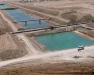 Nasiriyah Drainage Pump Station - A section of the Eastern Euphrates Drain