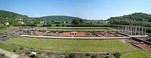 Echternach - Image: Echternach Roman Villa