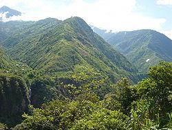 Paysage près de Baños