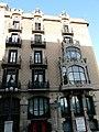 Edifici avda Blondel - plaça Sant Francesc P1070050.JPG