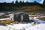 The Edith Creek Chlorination House near Paradise, Mount Rainier National Park.
