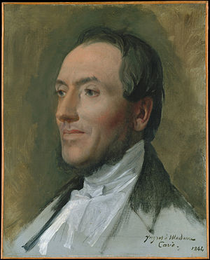 Hygin-Auguste Cavé - Hygin-Auguste Cavé (1844 portrait by Ingres)