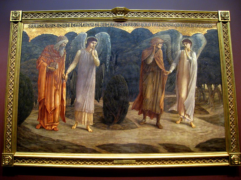 File:Edward Burne-Jones - The King and the Shepherd - IMG 0728.jpg