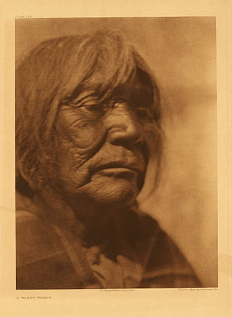 Washoe people - Washoe woman