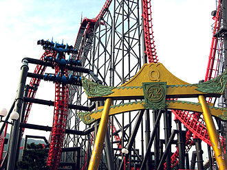 X2 (roller coaster) - Eejanaika is a similar roller coaster to X2, located in Japan