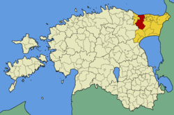 Lüganuse Parish within Ida-Viru County.