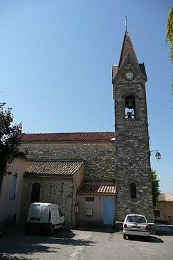 Eglise à Saint-Laurent-de-Camols.JPG