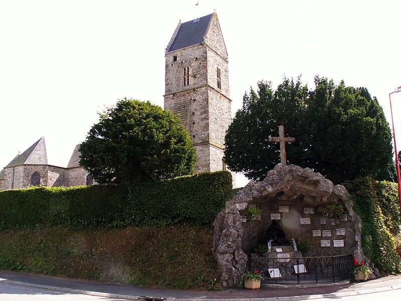 Eglise de la Rondehaye, Manche, France