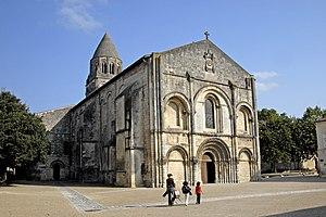 Sainte-Marie-des-Dames - Image: Eglise de l'Abbaye aux Dames de Saintes