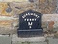 Egremont Ferry 2M milepost.jpg