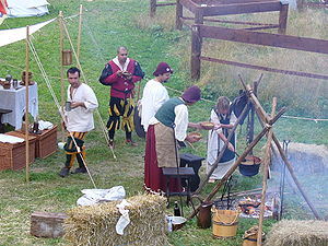 Medieval reenactment - Reenactment of everyday life