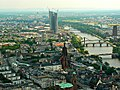 Ein Blick nach Osten von der Main Tower, Frankfurt (A view east from the Main Tower, Frankfurt) - geo.hlipp.de - 38759.jpg