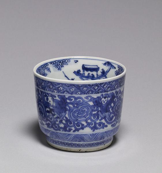 "File:Eiraku Hozen - Ash Container (""Takigara-ire"") for a Tea Ceremony - Walters 49944 - Profile.jpg"