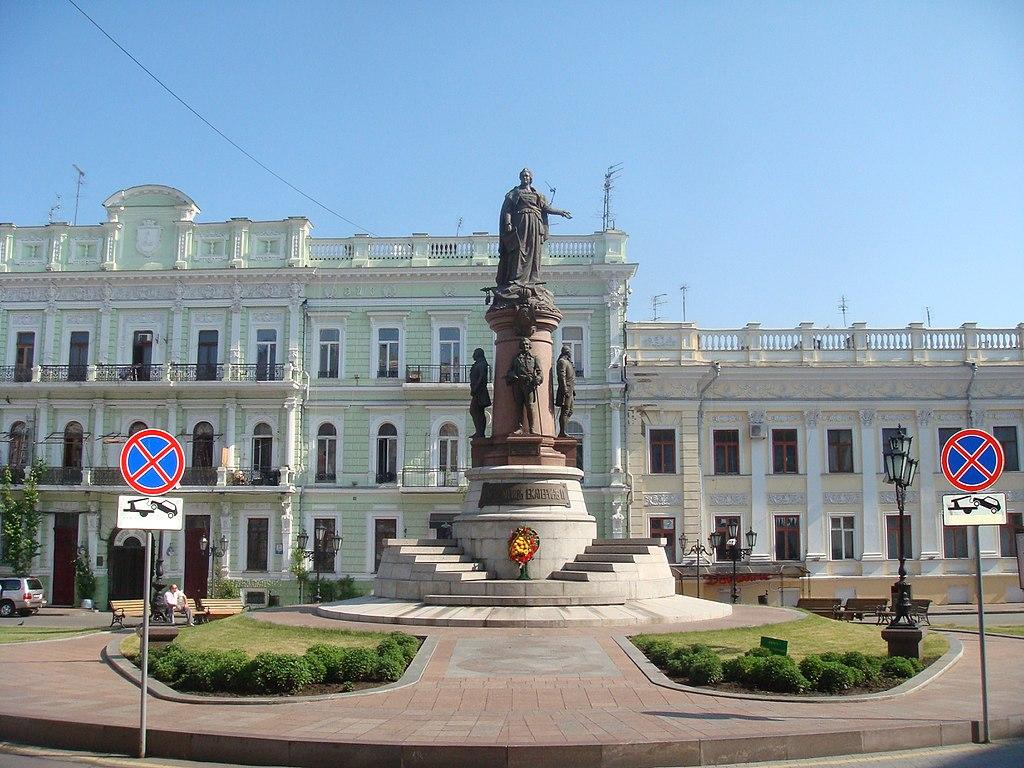 Ekaterininskay square Odessa 2010