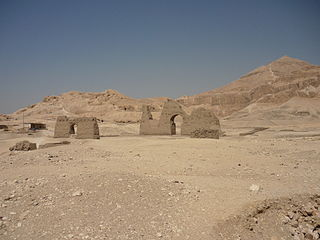 El-Khokha Necropolis of ancient Thebes, Egypt