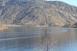 El Capitan Reservoir - The reservoir