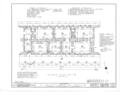 El Palacio Real de Santa Fe, Palace Avenue, Santa Fe, Santa Fe County, NM HABS NM,25-SANFE,2- (sheet 4 of 26).png