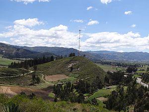 Sora, Boyacá - Image: El desaguadero Boyacá