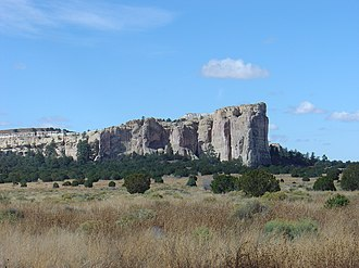 El Morro National Monument - Image: El morro view