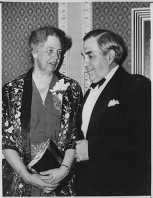 Eleanor Roosevelt and John Golden in New York City - NARA - 196793.tif