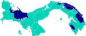 Panamanian general election, 2009 - Image: Elecciones Panamá Resultados 2009