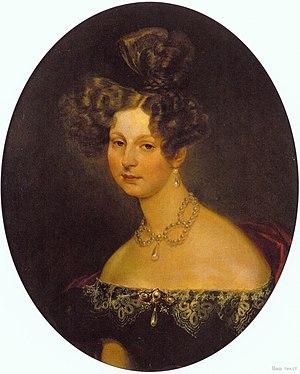 Princess Charlotte of Württemberg - Image: Elena Pavlovna of Russia by Brullov (1829, Tretyakov gallery)