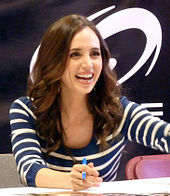 Dushku at Fan Expo Canada in Toronto, 2011