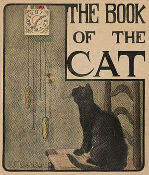 Elizabeth Fearne Bonsall - Elizabeth Fearne Bonsall, The Book of the Cat, 1903, cover illustration