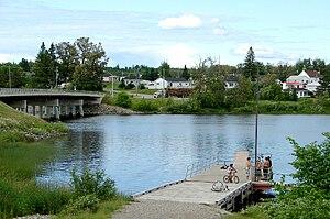 James, Ontario - Image: Elk Lake ON