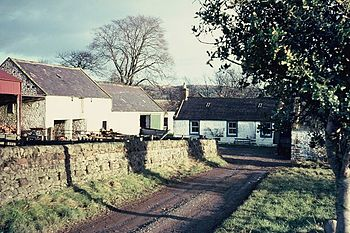 English: Ellisland Farm Robert Burns,(1759-96)...