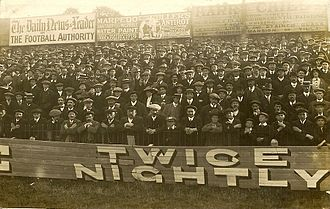 Reading F.C. - Supporters at a Reading match at Elm Park in 1913