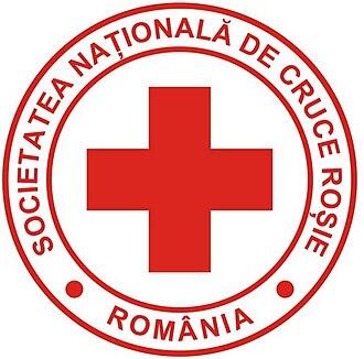 Princess Ileana of Romania - Image: Emblem of the Romanian Red Cross
