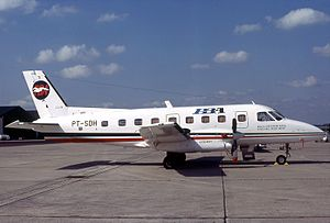 PBA Flight 1039 - Image: Embraer EMB 110P1 Bandeirante, PBA Provincetown Boston Airline AN0578560
