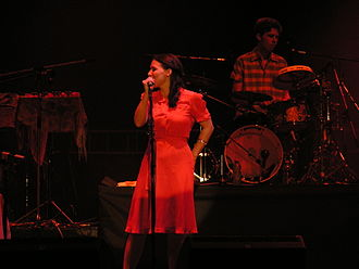 Emilíana Torrini - Torrini performing in June 2005