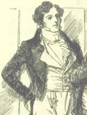George Knightley - George Knightley as depicted in an illustration by Hugh Thomson for an 1896 edition of Emma
