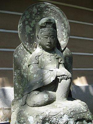 Engaku-ji - A stone carving