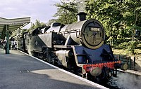 Engine 80104 at Swanage Station - geograph.org.uk - 1510002.jpg