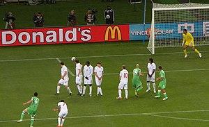 2010 FIFA World Cup Group C - England vs Algeria