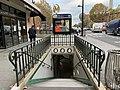 Entrée Station Porte St Ouen Paris 7.jpg