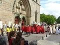 Entrée de la cathédrale de la Coiffe de Cahors le 27 avril 2019.jpg