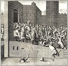 Entrance of Henry IV in Paris, 22 March 1594, with 1,500 cuirassiers (Source: Wikimedia)
