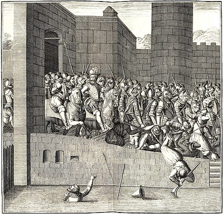 Entrance of Henry IV in Paris, 22 March 1594, with 1,500 cuirassiers Entrance of Henry IV in Paris 22 March 1594.jpg