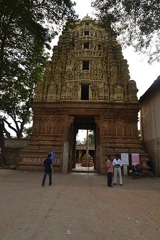 Kolar - Entrance of Somnatheshwar Temple in Kolar