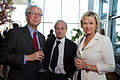 Enzo Viscusi, Sir Harold Evans and Tina Brown at FT Spring Party.jpg